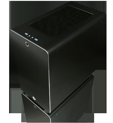 RAIJINTEK Thetis Classic Midi-Tower Black computer case