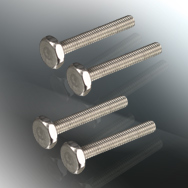 Knurled Threaded Screws