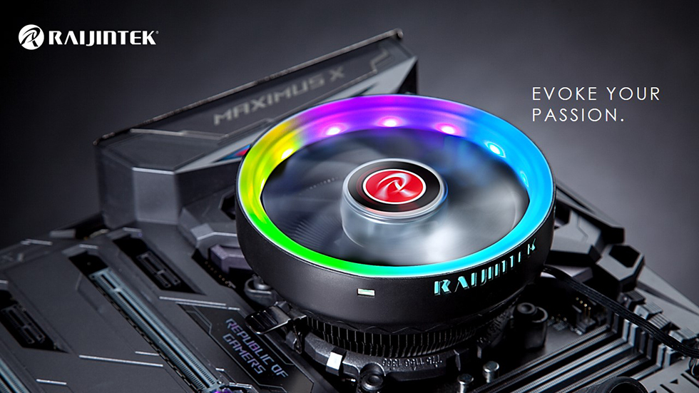 Thermaltake Intros UX100 ARGB Low-profile Top-flow CPU